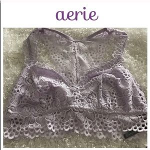 Aerie Light Purple Bralette